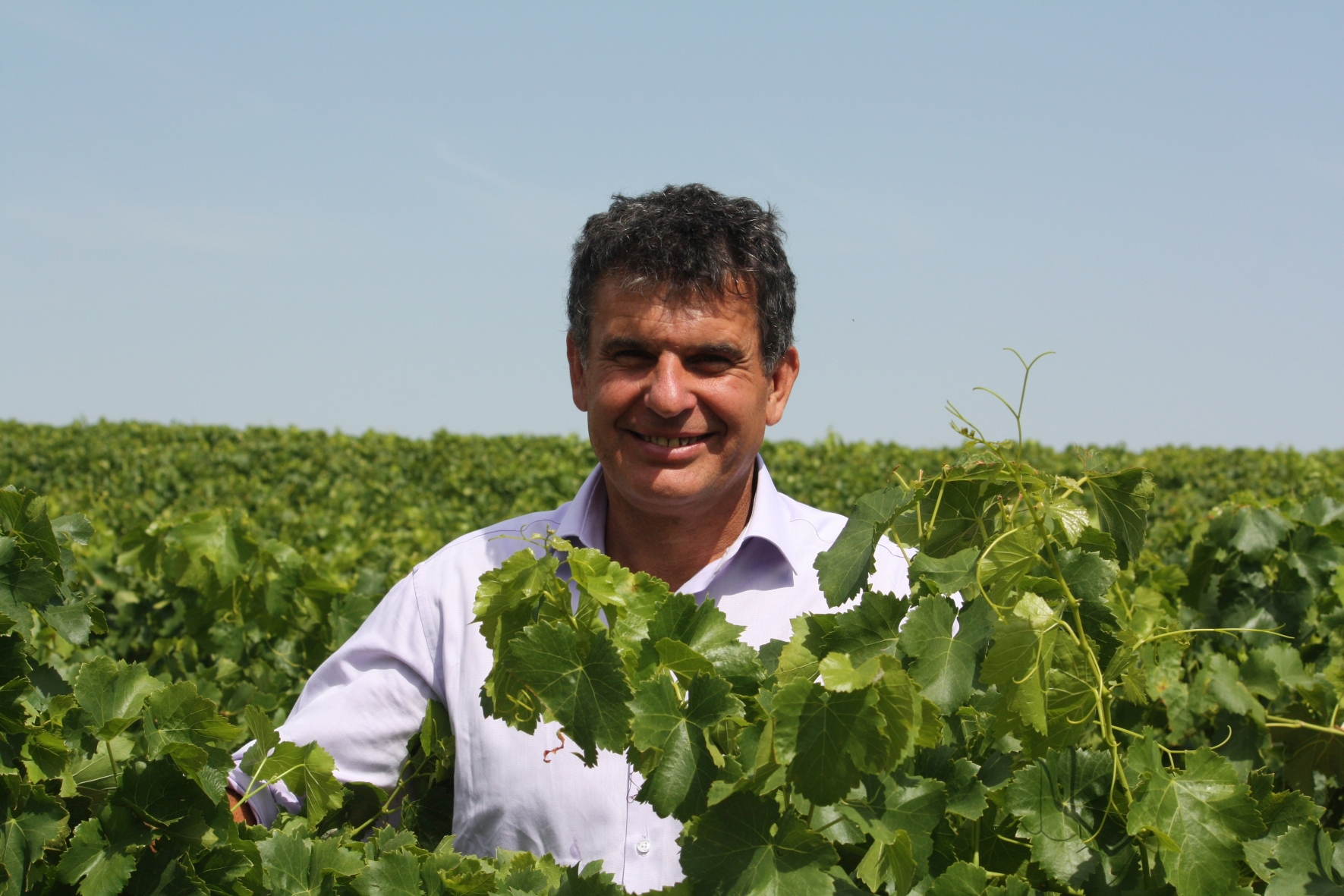 Managing director and Chief Wine Maker Philippe Tolleret